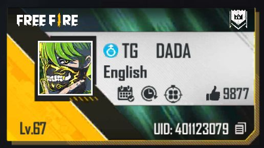 TG Dada Free Fire Id