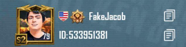 Jacob Gaming Pubg ID