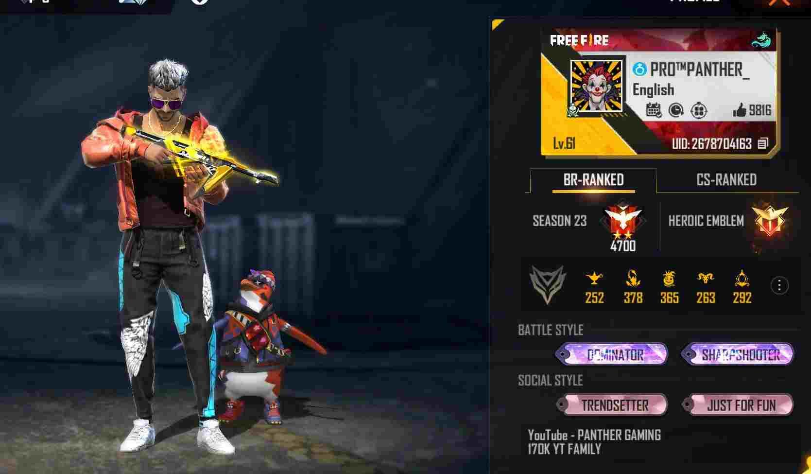 Panther Gaming Uid